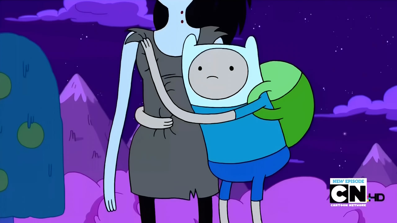 is adventure time an anime