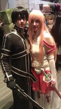 Ohayocon 2013 - Asuna x Kirito - Sword Art Online